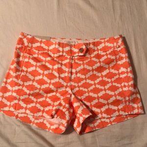 NWT J. Crew shorts. Size 0